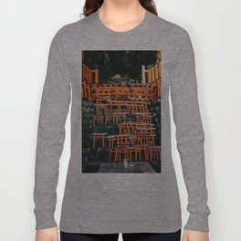 Japanese Mini Torii Shrines Long Sleeve T-shirt