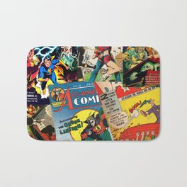 Comics Collage Bath Mat