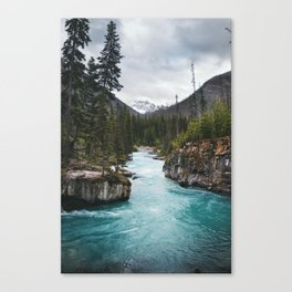 Marble Canyon, British Columbia Canvas Print