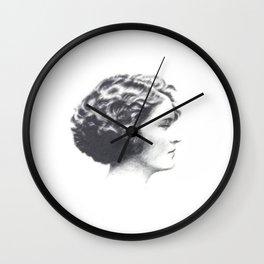A portrait of Zelda Fitzgerald Wall Clock