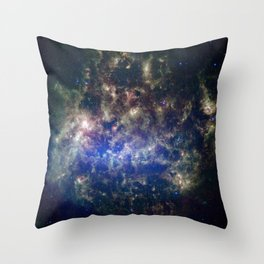 Large Magellanic Cloud, infrared 2 Throw Pillow