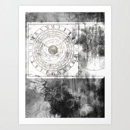 Clepsydra Art Print