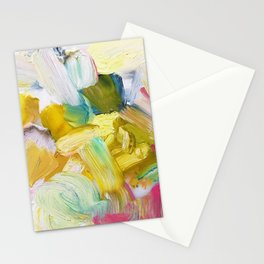 Lots of Feelings Abstract Painting Stationery Cards