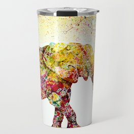 """""""Forever Young"""" Elephant Mother & Baby Travel Mug"""
