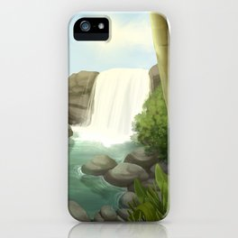 Like a waterfall iPhone Case