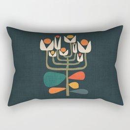 Retro botany Rectangular Pillow