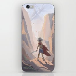 Blind Adventure iPhone Skin