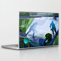 hockey Laptop & iPad Skins featuring Hockey by Robin Curtiss