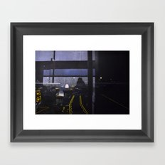 Candle-lit E Framed Art Print