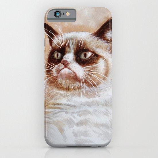 Grumpycat iPhone & iPod Case