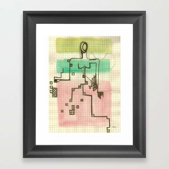 Woman_3 Framed Art Print