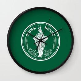 Flag of Bangkok Wall Clock