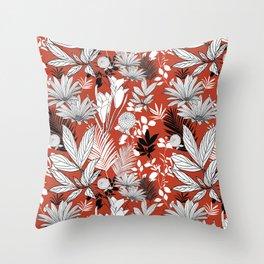 Harvest Garden Throw Pillow