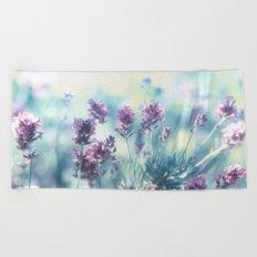 Lavender Summerdreams Beach Towel