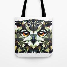 Polygon Owl Tote Bag