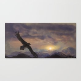 Chase the Morning Canvas Print