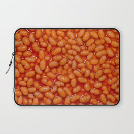 Baked Beans in Red Tomato Sauce Food Pattern  Laptop Sleeve
