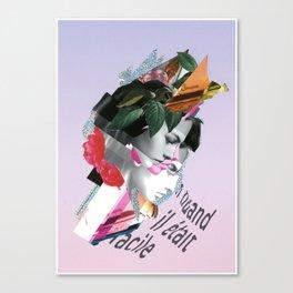 Send Help Canvas Print