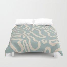 Organical shapes #443 Duvet Cover