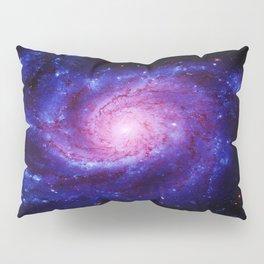 Spiral gAlAxy : Purple Blue Pillow Sham