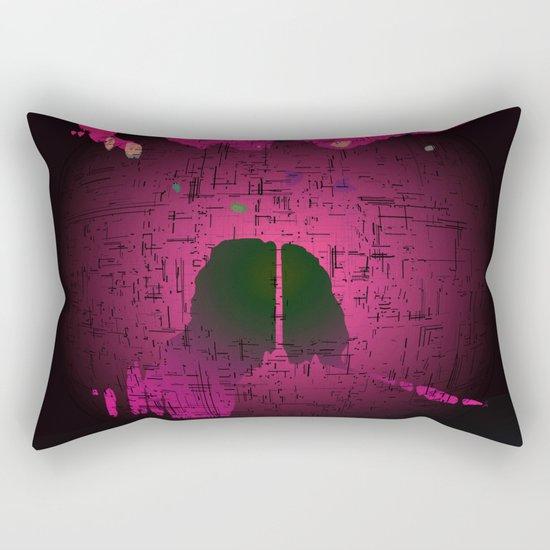 Planetary Mood 6 / Two Inside Doors Rectangular Pillow