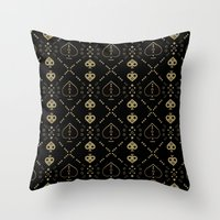 ace Throw Pillows featuring Ace by October's Very Own