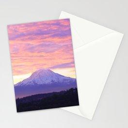 Sunrise over Tacoma Stationery Cards