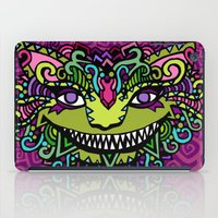 cheshire cat iPad Cases featuring CHESHIRE by AZZURRO ARTS