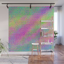 The Incident at The Highlighter Factory Wall Mural