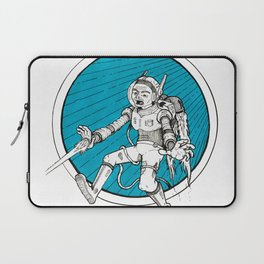 Cosmic Warrior Laptop Sleeve