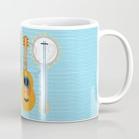 the mortal instruments Mugs featuring Simply Instruments by Paige Design, Inc.