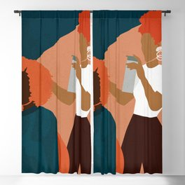 Salon No. 1 Blackout Curtain