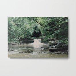 Waterfallin' Metal Print