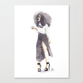 NaturalNERD Canvas Print