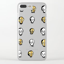 Royal Skullz Clear iPhone Case