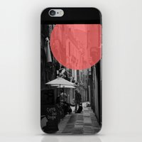doge iPhone & iPod Skins featuring Venice Caffe del doge by the penny drops