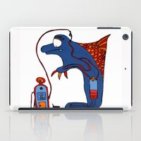 dolphin iPad Cases featuring Dolphin by JBLITTLEMONSTERS