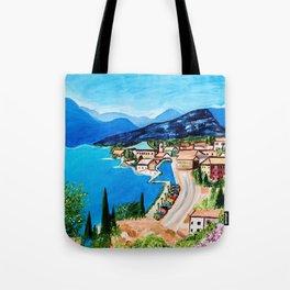 Lake Garda, Italy Tote Bag