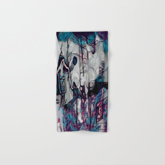 Within This Strange And Frightening World Hand & Bath Towel by Jeffrey ...