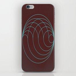 Aqua Orb iPhone Skin
