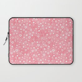 Roses Heart Pattern 01 Laptop Sleeve