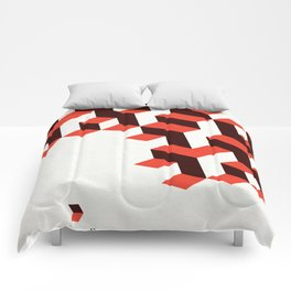 Modenist Negative Space Comforters