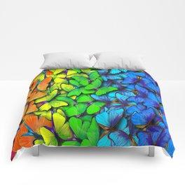 Colorful Butterflies Comforters