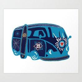 Summer On Art Print