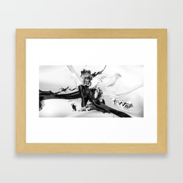 Milk'n Honey Framed Art Print