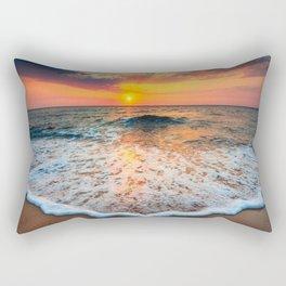 Sunrise at Sea Rectangular Pillow