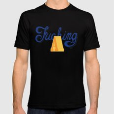 Fucking A Mens Fitted Tee Black MEDIUM
