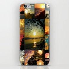 Sun collage iPhone & iPod Skin