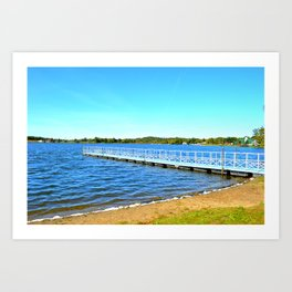 Summer on the Lake II Art Print