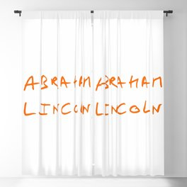 Great american 6 Abraham Lincoln Blackout Curtain